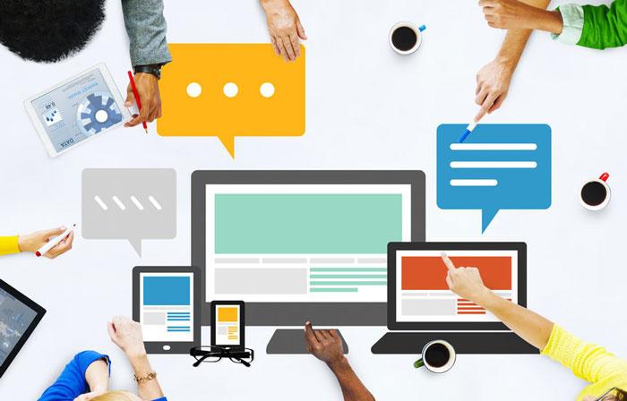 site Web adapté au format mobile