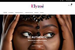 boutique en ligne - bijoux Elyzoé